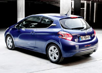 Peugeot 208 3D